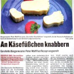 Peter Wolff - an Käsefüßchen knabbern