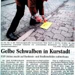 Peter Wolff - Gelbe_Bordstein-Schwalben