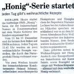 Peter Wolff - Honig Serie im SWR