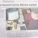 Peter Wolff berichtet von Forschungen am Fachbereich ET der Hochschule Fulda.