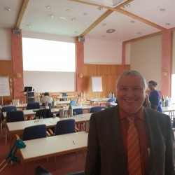 Peter Wolff im Konferenzhotel Retter in Pöllauberg/Steiermark