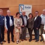 Neu gewählter Kneipp-Landesverband Hessen mit Peter Wolff und Dr. Georg Roth